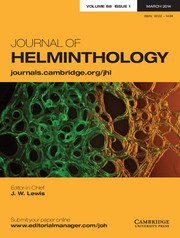 Journal of Helminthology Volume 88 - Issue 1 -
