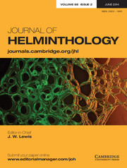 Journal of Helminthology Volume 88 - Issue 2 -