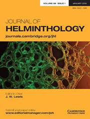 Journal of Helminthology Volume 89 - Issue 1 -