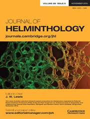 Journal of Helminthology Volume 89 - Issue 6 -