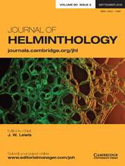 Journal of Helminthology Volume 90 - Issue 5 -