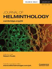 Journal of Helminthology Volume 91 - Issue 1 -