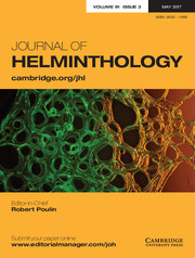 Journal of Helminthology Volume 91 - Issue 3 -