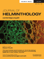 Journal of Helminthology Volume 91 - Issue 4 -