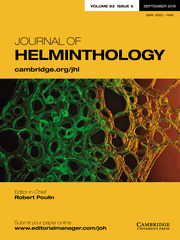 Journal of Helminthology Volume 93 - Issue 5 -