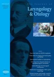 The Journal of Laryngology & Otology Volume 121 - Issue 2 -