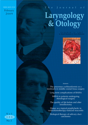 The Journal of Laryngology & Otology Volume 123 - Issue 2 -