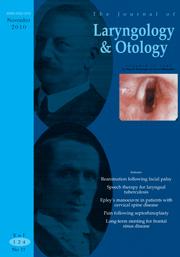 The Journal of Laryngology & Otology Volume 124 - Issue 11 -