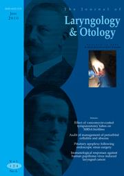 The Journal of Laryngology & Otology Volume 124 - Issue 6 -