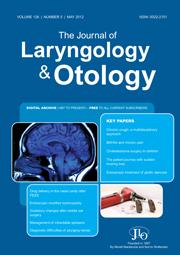 The Journal of Laryngology & Otology Volume 126 - Issue 5 -