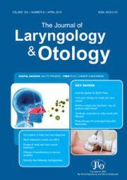 The Journal of Laryngology & Otology Volume 129 - Issue 4 -