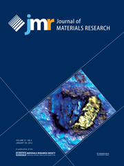 Journal of Materials Research Volume 27 - Issue 2 -