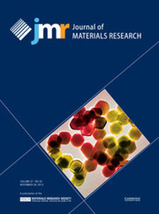 Journal of Materials Research Volume 27 - Issue 22 -