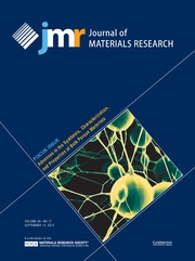 Journal of Materials Research Volume 28 - Issue 17 -  Focus Issue: Advances in the Synthesis, Characterization, and Properties of Bulk Porous Materials