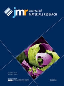 Journal of Materials Research Volume 28 - Issue 23 -