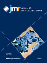 Journal of Materials Research Volume 28 - Issue 6 -