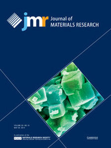 Journal of Materials Research Volume 29 - Issue 10 -