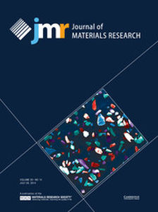 Journal of Materials Research Volume 29 - Issue 14 -
