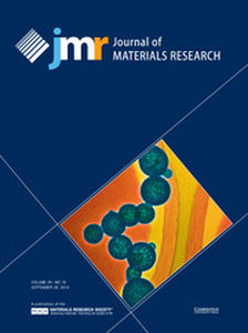 Journal of Materials Research Volume 29 - Issue 18 -