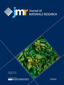 Journal of Materials Research Volume 29 - Issue 2 -
