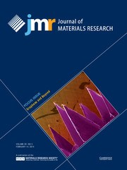 Journal of Materials Research Volume 29 - Issue 3 -  Focus Issue: Graphene and Beyond