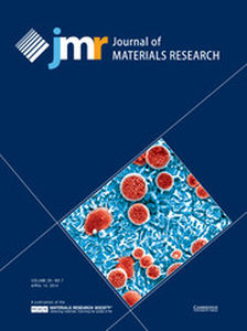Journal of Materials Research Volume 29 - Issue 7 -