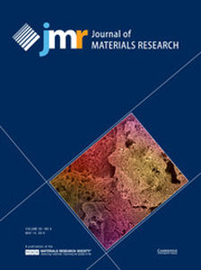 Journal of Materials Research Volume 29 - Issue 9 -