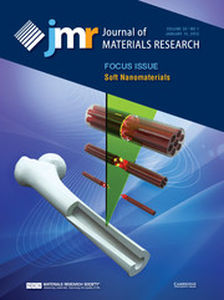 Journal of Materials Research Volume 30 - Issue 1 -  Focus Issue: Soft Nanomaterials