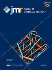 Journal of Materials Research Volume 30 - Issue 11 -