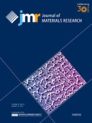 Journal of Materials Research Volume 30 - Issue 15 -