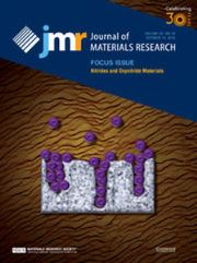Journal of Materials Research Volume 30 - Issue 19 -  Focus Issue: Nitrides and Oxynitride Materials