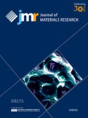 Journal of Materials Research Volume 30 - Issue 22 -
