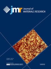 Journal of Materials Research Volume 31 - Issue 16 -