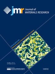Journal of Materials Research Volume 31 - Issue 18 -  Focus Section: Reinventing Boron Chemistry for the 21st Century