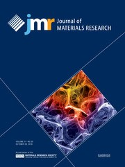 Journal of Materials Research Volume 31 - Issue 20 -
