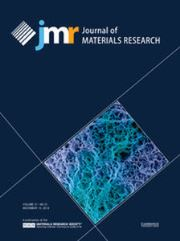 Journal of Materials Research Volume 31 - Issue 21 -