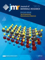 Journal of Materials Research Volume 31 - Issue 7 -  Focus Issue: Two-Dimensional Heterostructure Materials