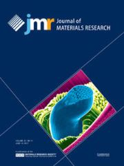 Journal of Materials Research Volume 32 - Issue 11 -