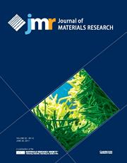 Journal of Materials Research Volume 32 - Issue 12 -