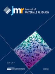 Journal of Materials Research Volume 32 - Issue 13 -