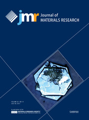 Journal of Materials Research Volume 32 - Issue 14 -
