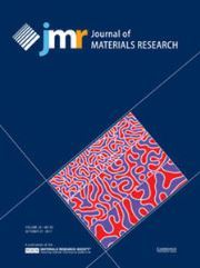 Journal of Materials Research Volume 32 - Issue 20 -