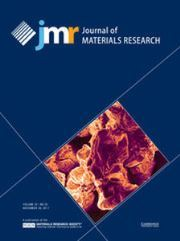 Journal of Materials Research Volume 32 - Issue 22 -