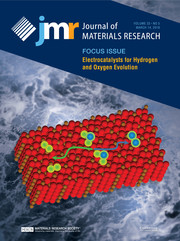 Journal of Materials Research Volume 33 - Issue 5 -  Focus Issue: Electrocatalysts for Hydrogen and Oxygen Evolution