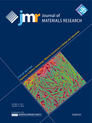Journal of Materials Research Volume 35 - Issue 1 -  Focus Section: Advances in Battery Technology: Material Innovations in Design and Fabrication