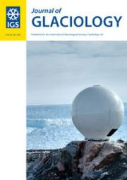 Journal of Glaciology Volume 62 - Issue 236 -