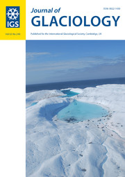 Journal of Glaciology Volume 63 - Issue 240 -