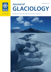 Journal of Glaciology Volume 65 - Issue 254 -