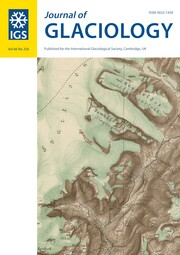 Journal of Glaciology Volume 66 - Issue 256 -