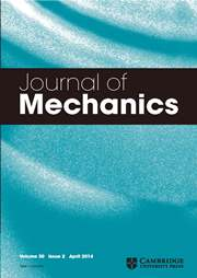 Journal of Mechanics Volume 30 - Issue 2 -